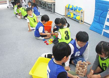 集団活動による学びある行動観察対策